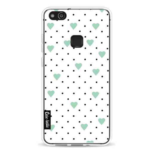 Casetastic Softcover Huawei P10 Lite - Pin Point Hearts Mint