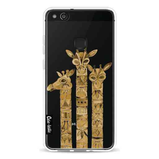 Casetastic Softcover Huawei P10 Lite - Sepia Giraffes