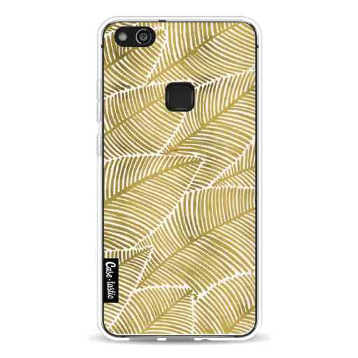 Casetastic Softcover Huawei P10 Lite - Tropical Leaves Gold