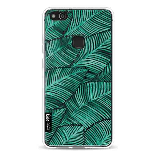 Casetastic Softcover Huawei P10 Lite - Tropical Leaves Turquoise