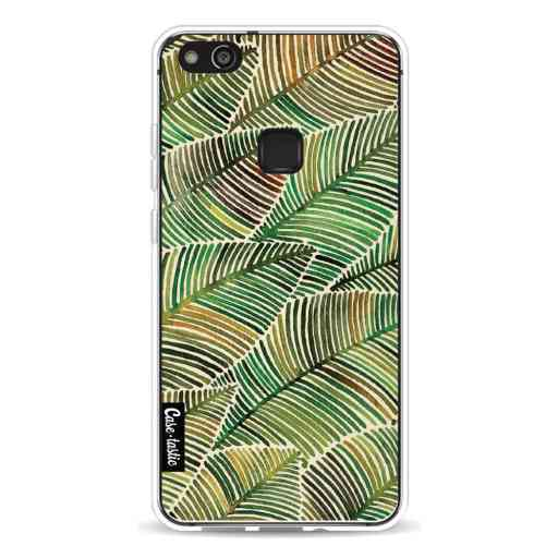 Casetastic Softcover Huawei P10 Lite - Tropical Leaves Yellow