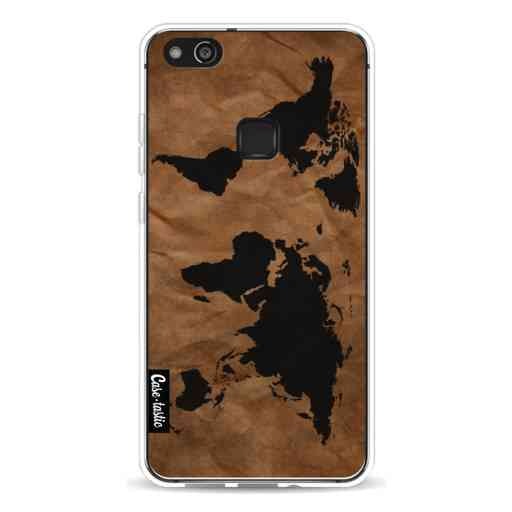 Casetastic Softcover Huawei P10 Lite - World Map