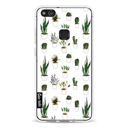 Casetastic Softcover Huawei P10 Lite - Plants in White Pots