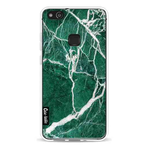 Casetastic Softcover Huawei P10 Lite - Dark Green Marble