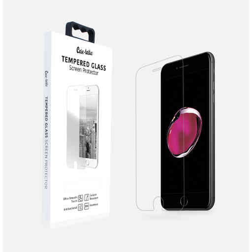 Casetastic Tempered Glass Screenprotector Apple iPhone 7 Plus/8 Plus