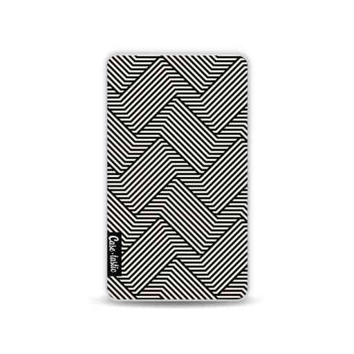 Casetastic Powerbank 4.000 mAh - Braided Lines