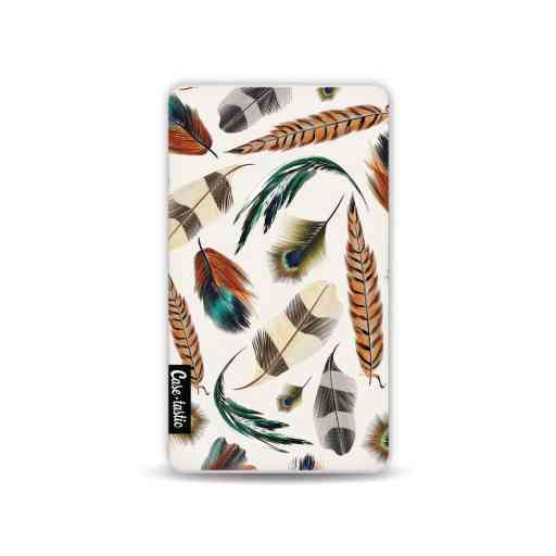 Casetastic Powerbank 4.000 mAh - Feathers Multi
