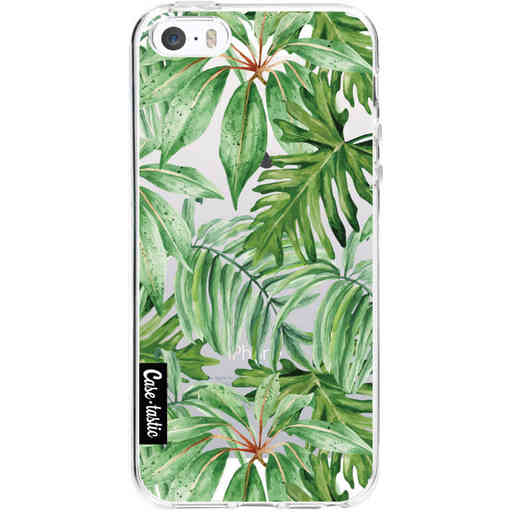 Casetastic Softcover Apple iPhone 5 / 5s / SE - Transparent Leaves