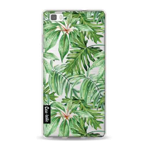 Casetastic Softcover Huawei P8 Lite (2015) - Transparent Leaves
