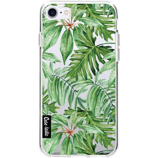 Casetastic Softcover Apple iPhone 7 / 8 / SE (2020) - Transparent Leaves