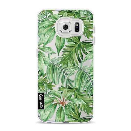 Casetastic Softcover Samsung Galaxy S6 - Transparent Leaves