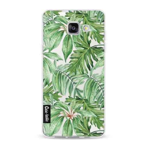 Casetastic Softcover Samsung Galaxy A5 (2016) - Transparent Leaves