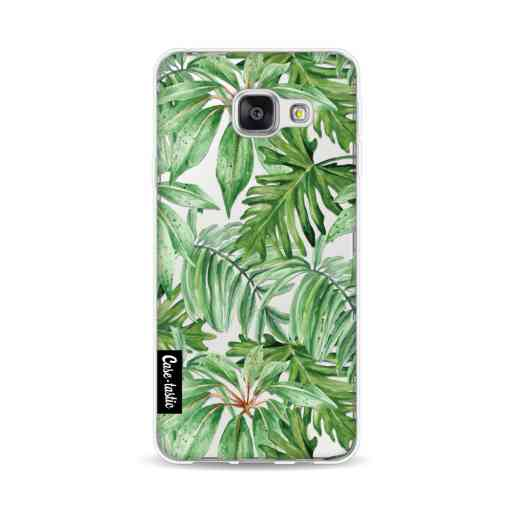 Casetastic Softcover Samsung Galaxy A3 (2016) - Transparent Leaves