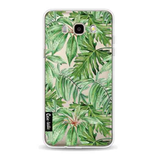 Casetastic Softcover Samsung Galaxy J5 (2016) - Transparent Leaves