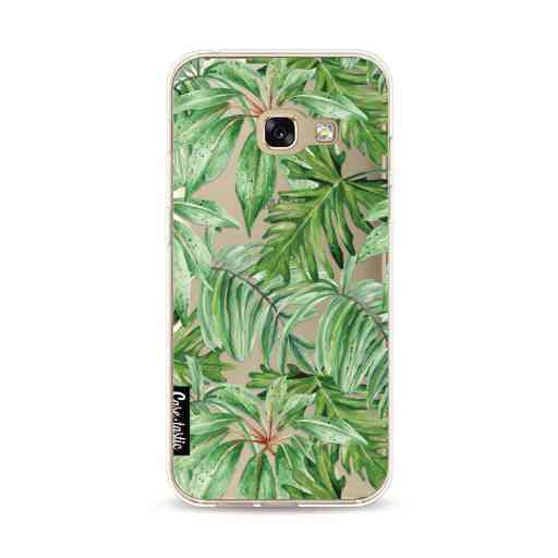Casetastic Softcover Samsung Galaxy A3 (2017) - Transparent Leaves