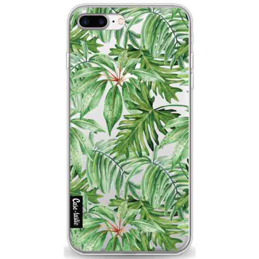 Casetastic Softcover Apple iPhone 7 Plus / 8 Plus - Transparent Leaves