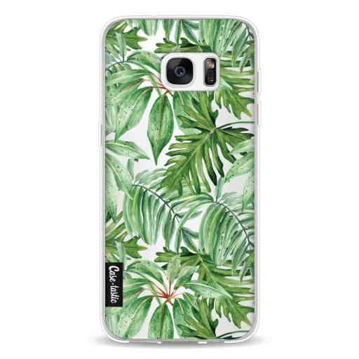 Casetastic Softcover Samsung Galaxy S7 Edge Transparent Leaves