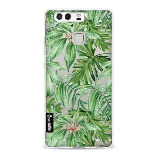 Casetastic Softcover Huawei P9  - Transparent Leaves