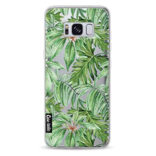 Casetastic Softcover Samsung Galaxy S8 - Transparent Leaves