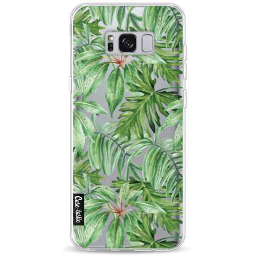 Casetastic Softcover Samsung Galaxy S8 Plus - Transparent Leaves