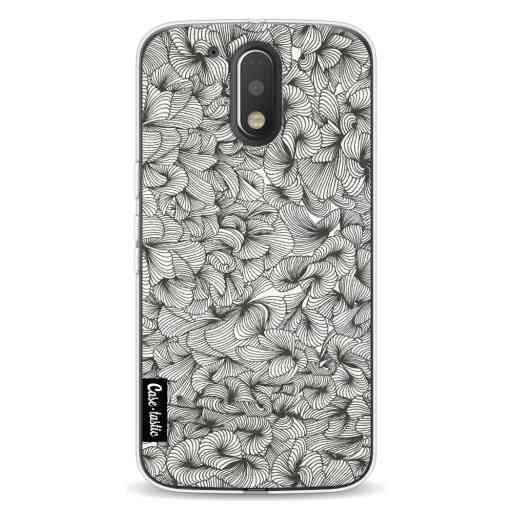 Casetastic Softcover Motorola Moto G4 / G4 Plus - Abstract Pattern Black