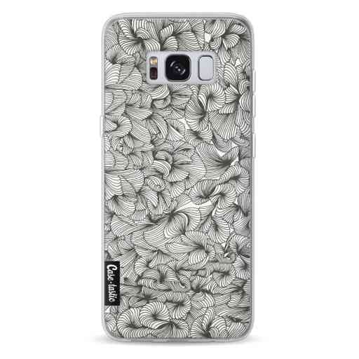 Casetastic Softcover Samsung Galaxy S8 - Abstract Pattern Black