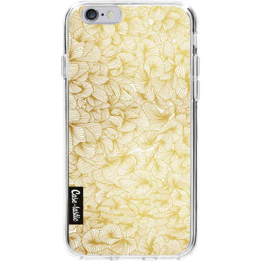 Casetastic Softcover Apple iPhone 6 / 6s - Abstract Pattern Gold