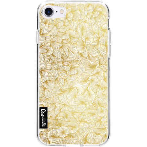 Casetastic Softcover Apple iPhone 7 / 8 / SE (2020) - Abstract Pattern Gold