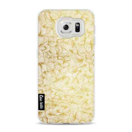 Casetastic Softcover Samsung Galaxy S6 - Abstract Pattern Gold