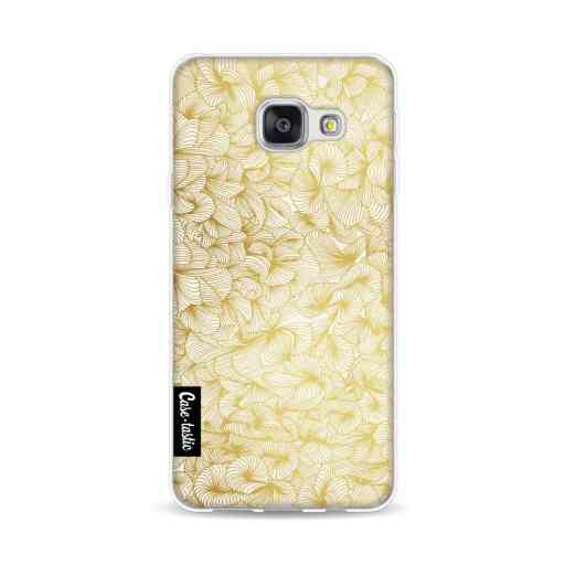 Casetastic Softcover Samsung Galaxy A3 (2016) - Abstract Pattern Gold