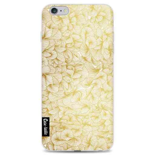 Casetastic Softcover Apple iPhone 6 Plus / 6s Plus - Abstract Pattern Gold