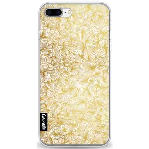 Casetastic Softcover Apple iPhone 7 Plus / 8 Plus - Abstract Pattern Gold