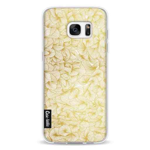 Casetastic Softcover Samsung Galaxy S7 Edge - Abstract Pattern Gold