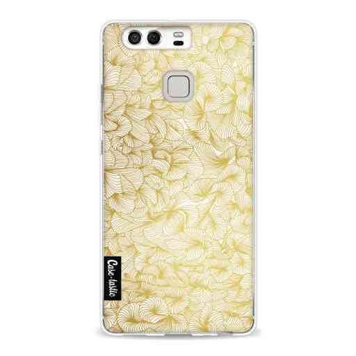 Casetastic Softcover Huawei P9  - Abstract Pattern Gold