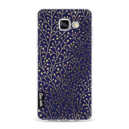 Casetastic Softcover Samsung Galaxy A5 (2016) - Berry Branches Navy Gold