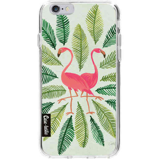 Casetastic Softcover Apple iPhone 6 / 6s - Flamingos Green