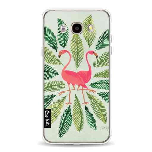 Casetastic Softcover Samsung Galaxy J5 (2016) - Flamingos Green