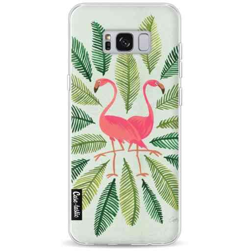 Casetastic Softcover Samsung Galaxy S8 Plus - Flamingos Green