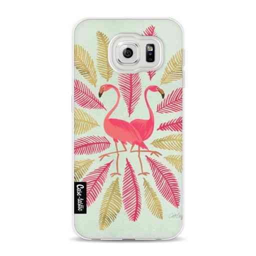 Casetastic Softcover Samsung Galaxy S6 - Flamingos Pink