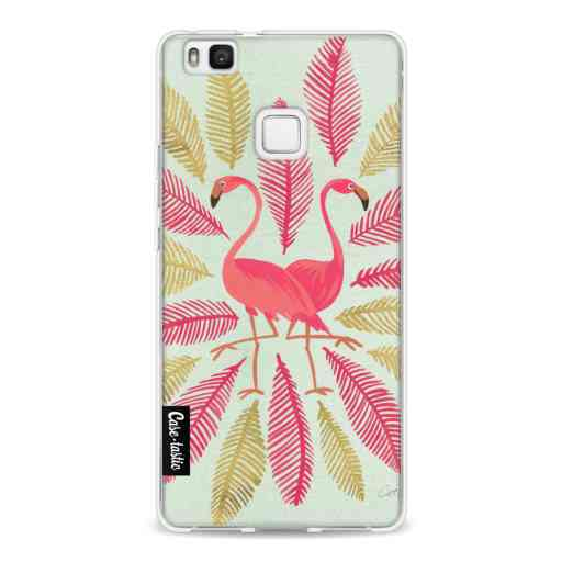 Casetastic Softcover Huawei P9 Lite - Flamingos Pink