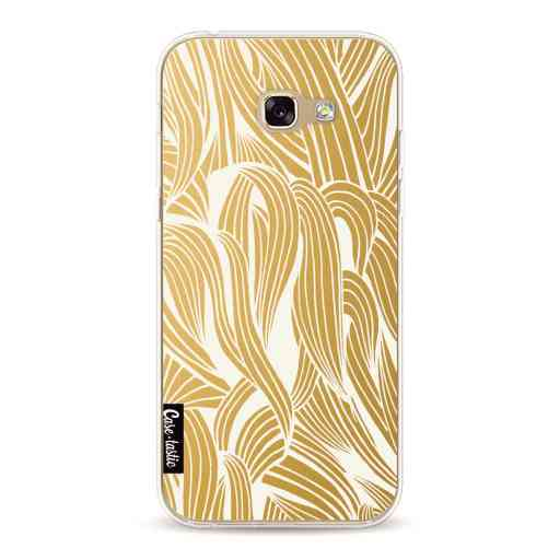 Casetastic Softcover Samsung Galaxy A5 (2017) - Gold Organic Pattern