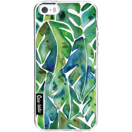 Casetastic Softcover Apple iPhone 5 / 5s / SE - Green Philodendron