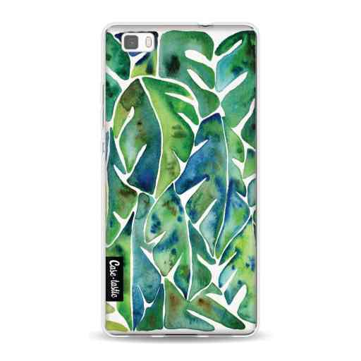 Casetastic Softcover Huawei P8 Lite (2015) - Green Philodendron
