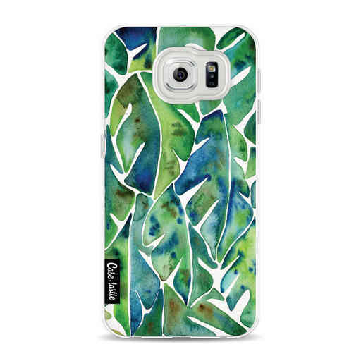 Casetastic Softcover Samsung Galaxy S6 - Green Philodendron