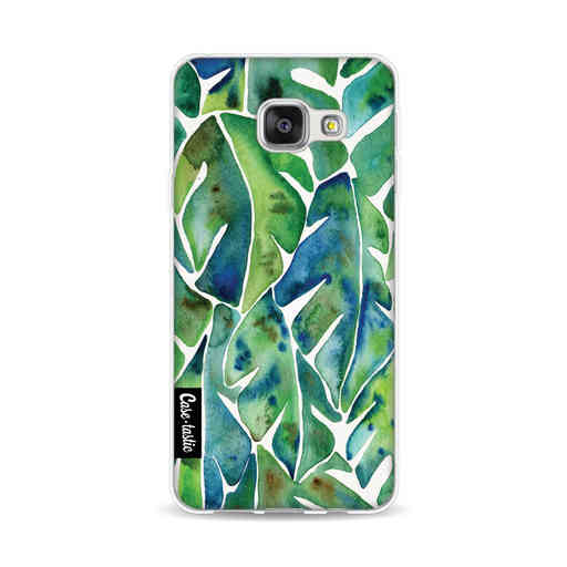 Casetastic Softcover Samsung Galaxy A3 (2016) - Green Philodendron