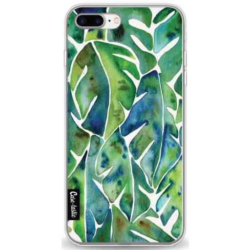 Casetastic Softcover Apple iPhone 7 Plus / 8 Plus - Green Philodendron