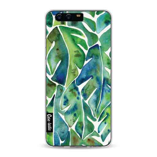 Casetastic Softcover Huawei P10 - Green Philodendron