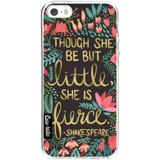 Casetastic Softcover Apple iPhone 5 / 5s / SE - Little Fierce Charcoal