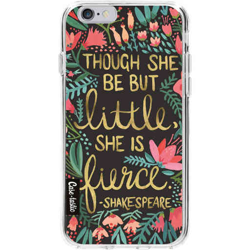 Casetastic Softcover Apple iPhone 6 / 6s - Little Fierce Charcoal