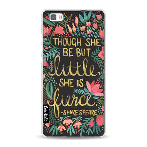 Casetastic Softcover Huawei P8 Lite (2015) - Little Fierce Charcoal